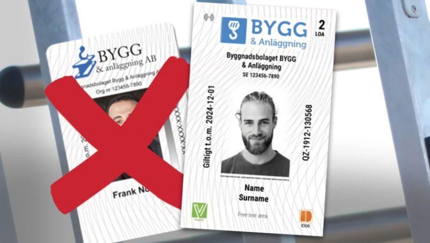 ID06 är byggbranschens eget ID-kort